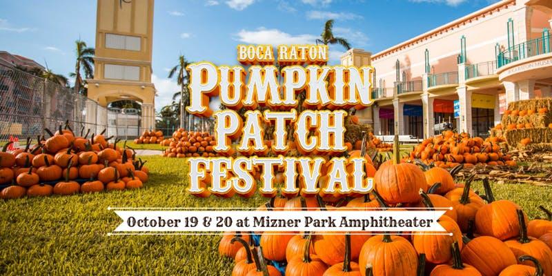 mizner park pumpkin patch boca raton