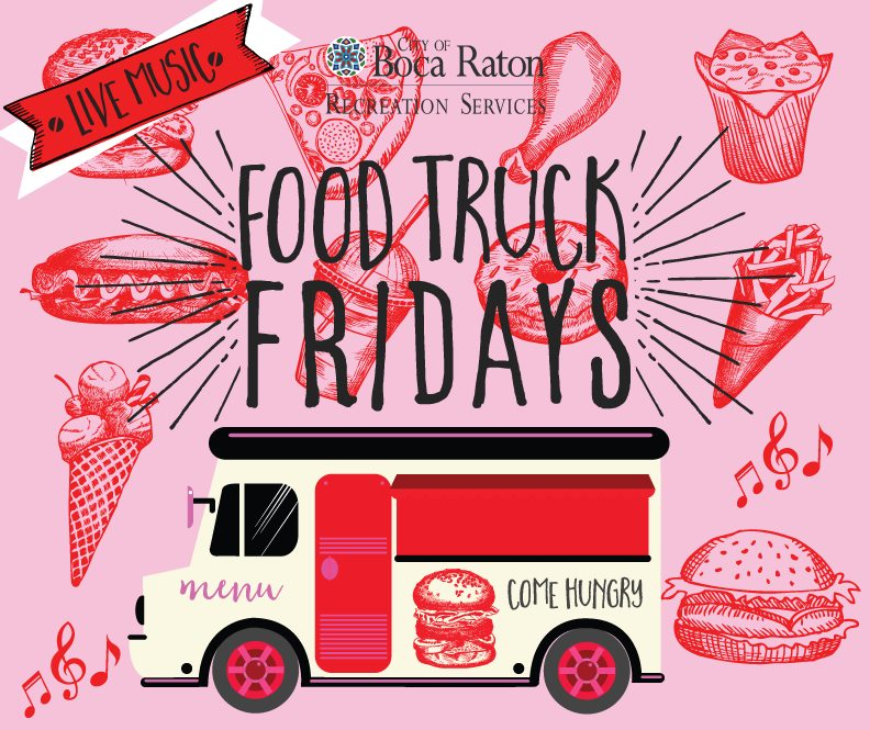 Have you tried some of the many Boca Raton food trucks that you can hire for events?